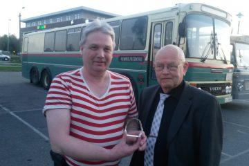 Premie for beste kombinertbuss Harald og Jan